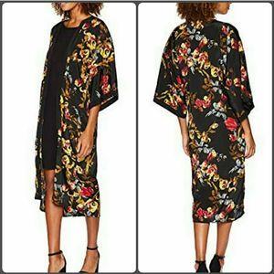 Floral Kimono Open Duster New Vince Camuto